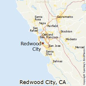 best places to live in redwood city california