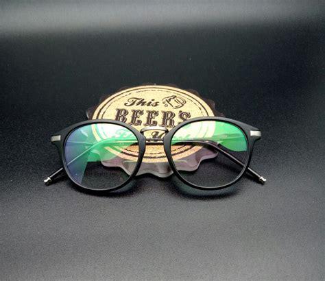 Kacamata Pria Rayban 8089 Hitam Doff Murah frame kacamata minus fashion 901 hitam doff pusat