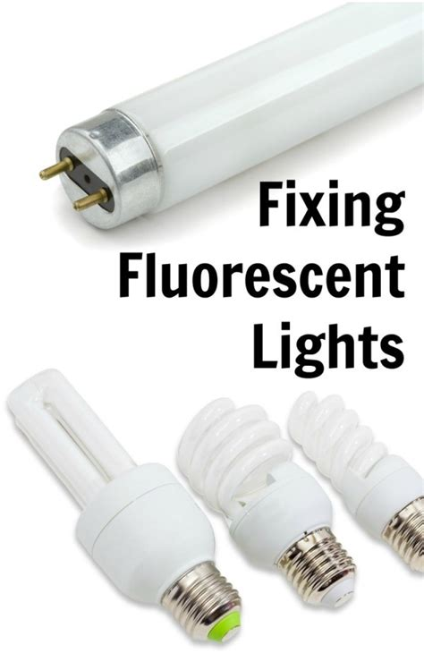 How To Fix Fluorescent Light Fixtures Fixing Fluorescent Lights Thriftyfun