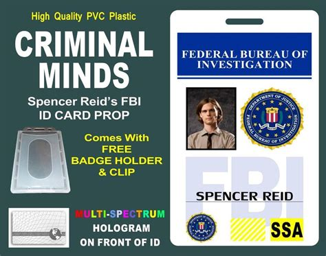 fbi id card template the gallery for gt fbi badge printable