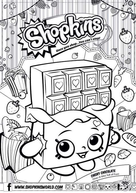 shopkins wishes coloring page 17 best images about shopkins theme party on pinterest