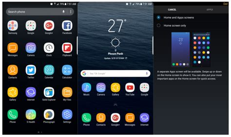 samsung home apk s8 launcher apk techora