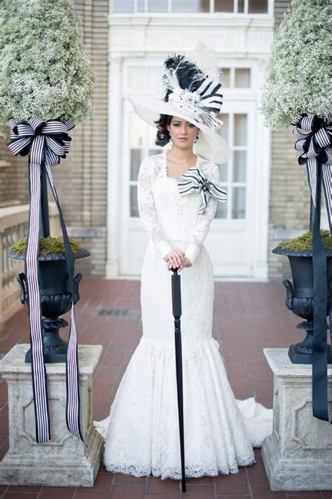 Wedding dress inspired by My Fair Lady I'm not a fan of