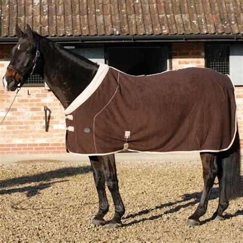 Equestrian Rug by Todd Deluxe Fleece Rug Brown Beige Redpost Equestrian