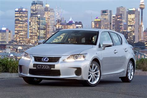 lexus small car lexus ct 200h is the safest small car according to forbes