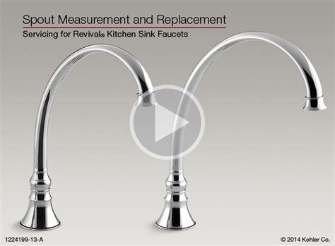 Bathroom Sink Spout Replacement Spout Measurement And Replacement