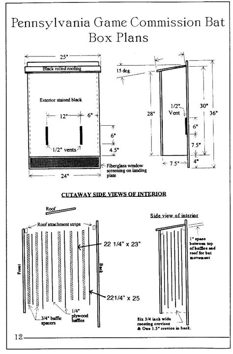 Bat Conservation International Bat House Plans Make Your Own Bat House Images Bat Houses Bats Bat Box And Gardens