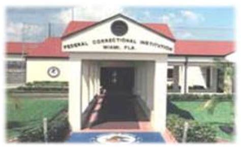Federal Search Miami Miami Federal Prison Fci Miami In Florida And The Miami Federal Detention Center
