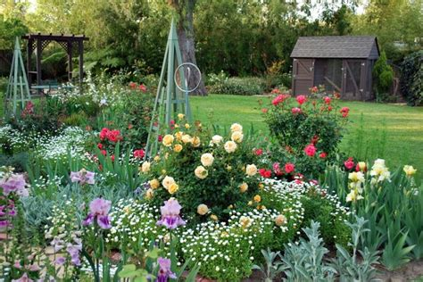 Flower Gardens In California Renee Fraser S Beautiful Southern California Garden Southern California Gardening