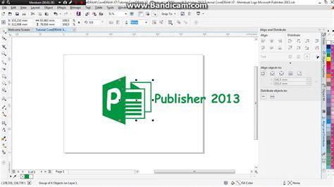 tutorial corel draw x7 membuat logo tutorial coreldraw x7 membuat logo microsoft publisher