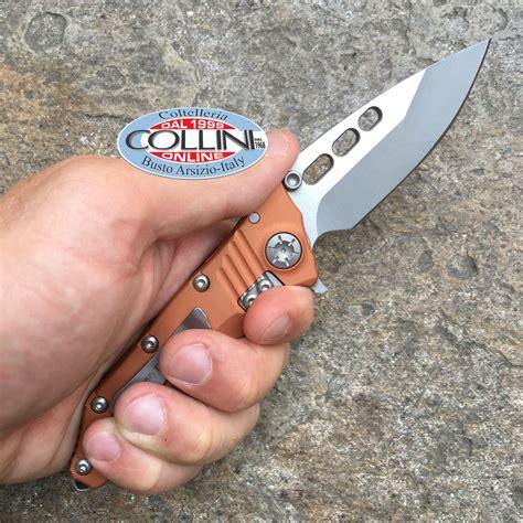Nano 3tone 668 guardian tactical use helix nano two tone satin orange knife
