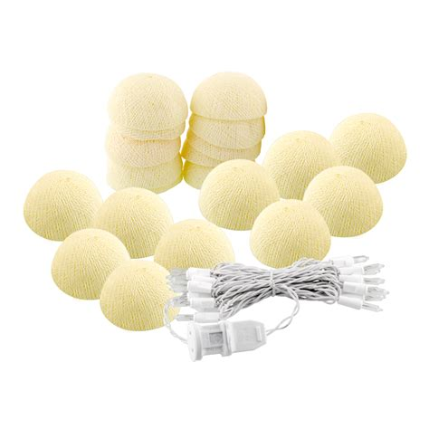 cotton lights cotton 20 lights string lights battery