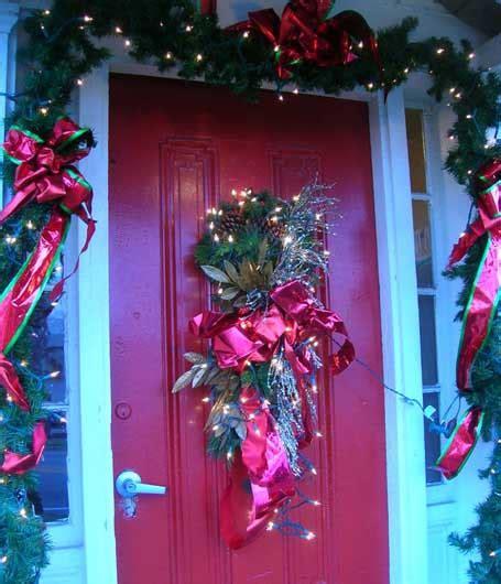 decoracion de puertas navideñas paso a paso decoracion navidea para puertas de entrada stunning de