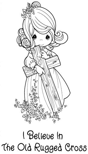 Baptism and christening coloring pages | Coloring Pages