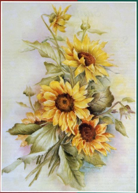 4 4 Dollyn Cabella Flower 8002 1447 best 1a poppies daffodils sunflowers images on watercolor flowers daffodils
