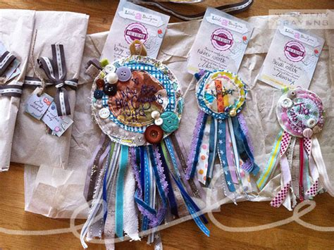 Handmade Rosettes - rosettes by a designs who ate my crayons
