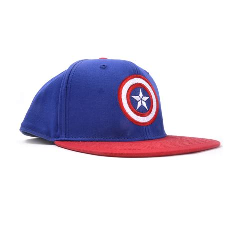 Captain Cap Cooper 2 captain america logo marvel age of ultron snap back cap pink cat shop