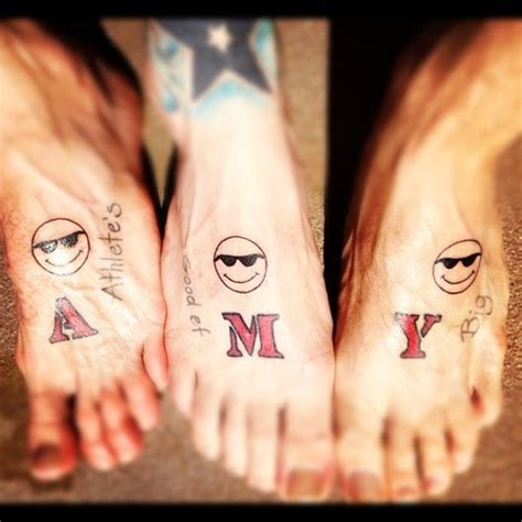 couple tattoo ugly 133 best images about ugly feet on pinterest pedicures