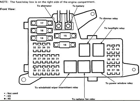 1999 honda civic radio wiring diagram 1999 honda civic