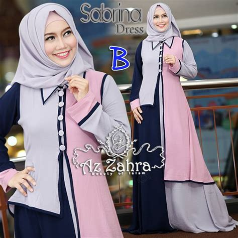 Grosir Baju Sabrina Dress Ory By Mb sabrina b baju muslim gamis modern