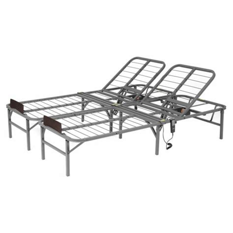 adjustable lift bed frame king size electric remote foundation base ebay