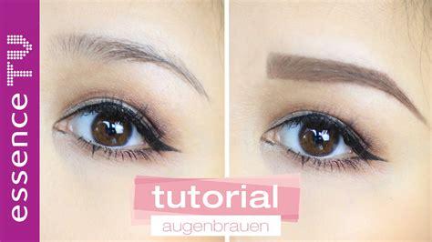 Augenbrauen Zupfen by Perfekte Augenbrauen Routine Zupfen Schminken Formen