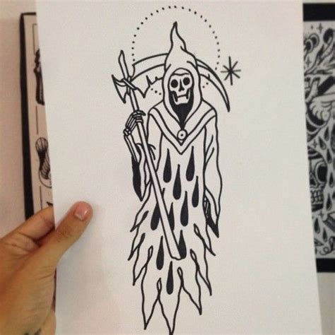 old school tattoo outlines 41 best death tattoo outlines images on pinterest design