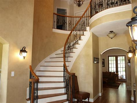 beautiful wrought iron staircase designs wooden and