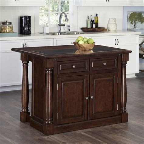 monarch cherry kitchen island with storage 5007 945 the