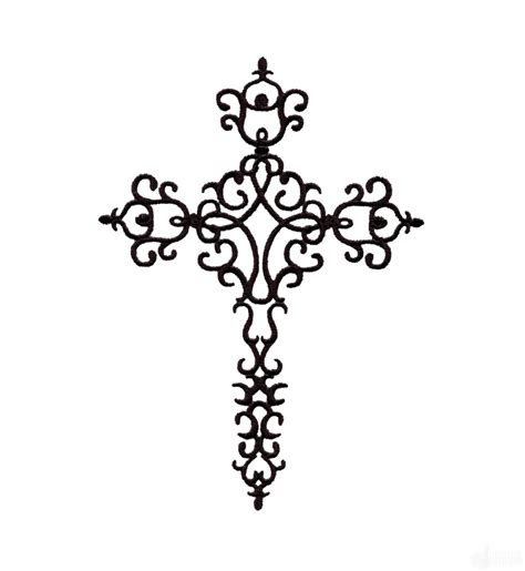 embroidery design cross easter cross 2 embroidery design