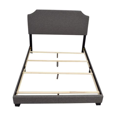 complete bed 62 off ikea ikea full size pewter bed frame beds