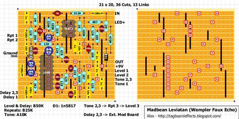 vero layout guide guitar fx layouts madbean leviathan wler faux analog