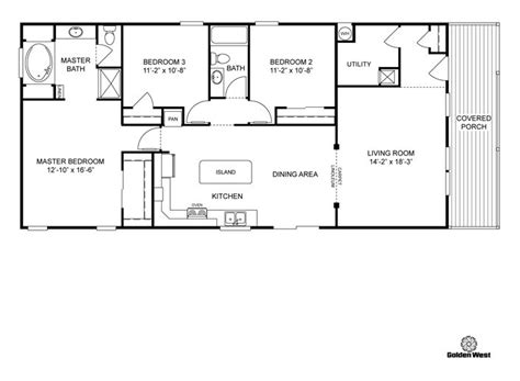 manufactured home floor plan 2005 clayton colony bay clayton floor plans clayton homes home floor plan
