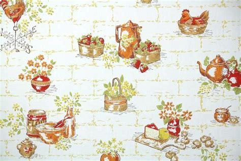 1960s kitchen vintage wallpaper s treasures