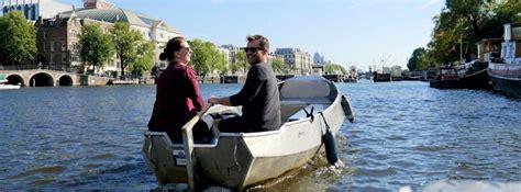 bootje maken dat kan varen zelf varen in amsterdam huur een sloep en maak je eigen