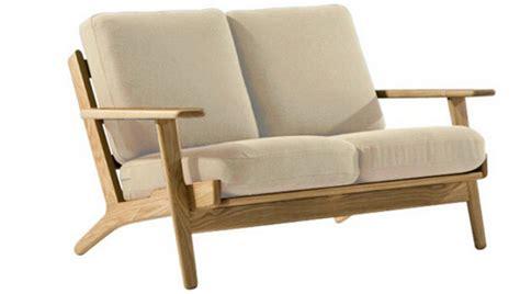 hans wegner plank  seater sofa replica wooden frame buy hans wegner plank  seater sofa