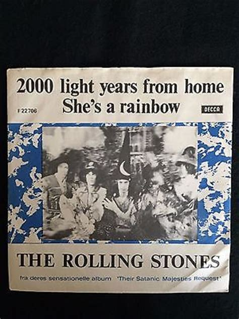popsike rolling stones 2000 light years from home