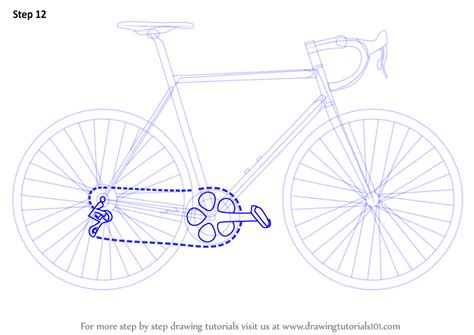 construct 2 bike tutorial learn how to draw a bike two wheelers step by step