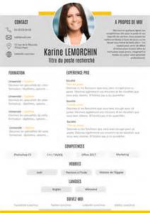 Exemple Bon Cv by Exemple De Cv Le Bon Cv Gratuit 224 T 233 L 233 Charger