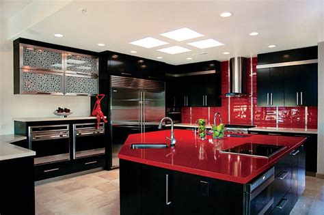 Red Kitchen Decorative Accessories 20 Of The Best Colors To Pair With Black Or White