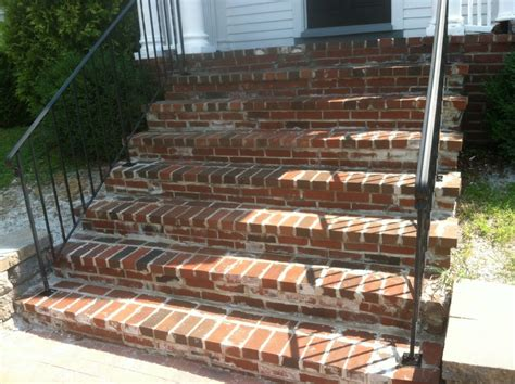 Brick Stairs Design Home Design Exciting Design Front Porch Steps Ideas With Bricks Color Brick Stairs Design