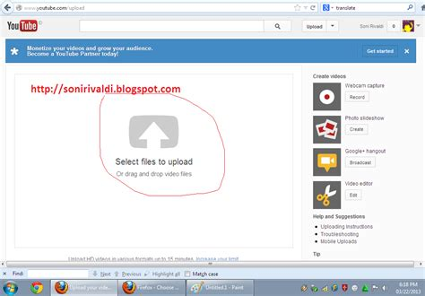cara mudah upload video di youtube cara upload video ke youtube dengan mudah blank blank