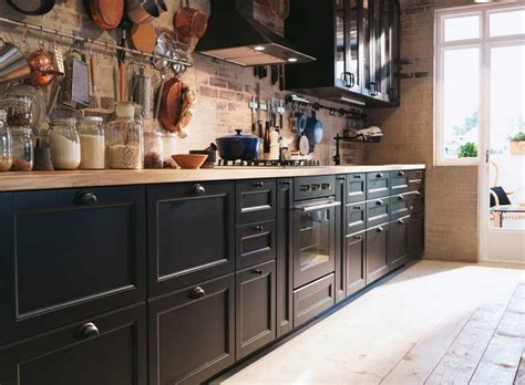 black kitchen wall cabinets 27 most hilarious one wall kitchen design ideas and