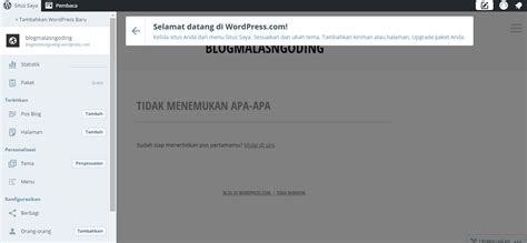 tutorial cara membuat blog di wordpress cara membuat blog di wordpress gratis mudah malas ngoding