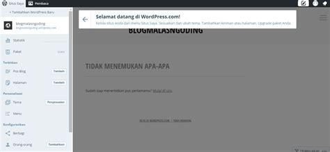 cara membuat auto blog di wordpress cara membuat blog di wordpress gratis mudah malas ngoding