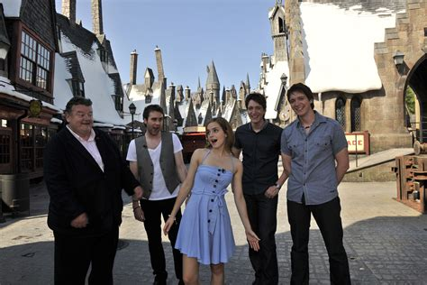 emma watson universal studios the wizarding world of harry potter harry potter fan zone