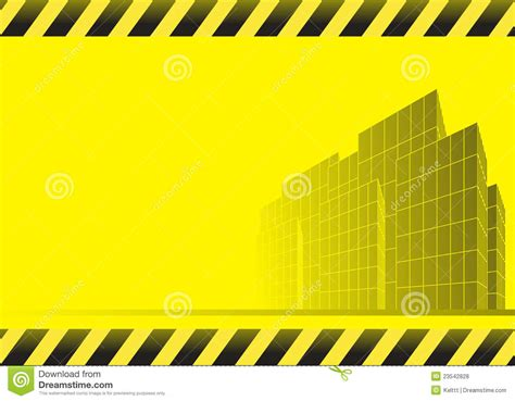 Free Modern House Plans construction background with skyscrapers stock vector