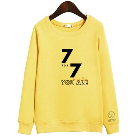 Sweater Got7 by Got7 7 For 7 Sweater Kpop
