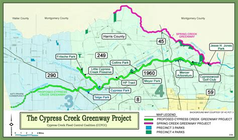 cypress texas map cypress creek greenway expansion cypress texas real estate
