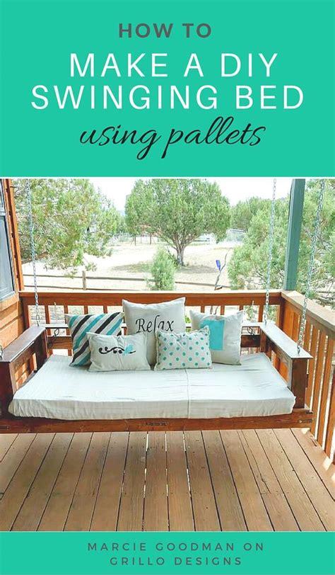 diy porch swing bed ideas  designs